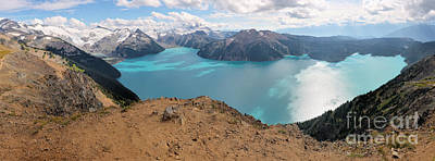 Photograph - Garibaldi Lake Panorama by Adam Jewell