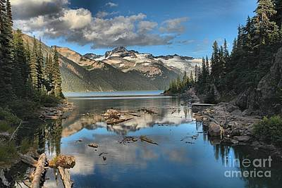 Photograph - Garibaldi Lake Reflections by Adam Jewell