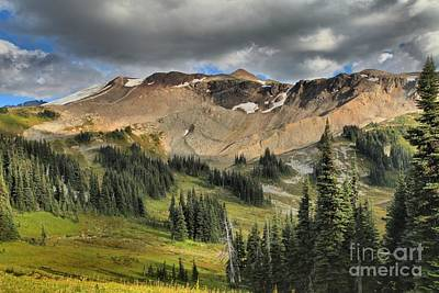 Photograph - Garibaldi Panorama Ridge Approach by Adam Jewell