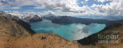 Photograph - Garibaldi Panorama Ridge Panoramic View by Adam Jewell