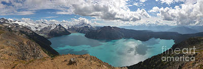 Photograph - Garibaldi Provincial Park Panorama Ridge Panoramic by Adam Jewell