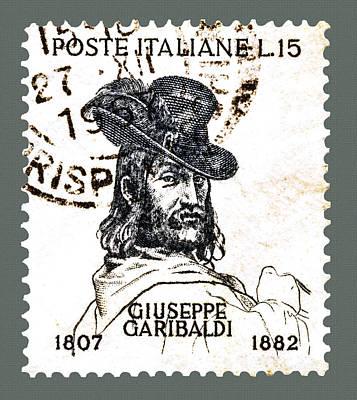 Photograph - Giuseppe Garibaldi by Phil Cardamone