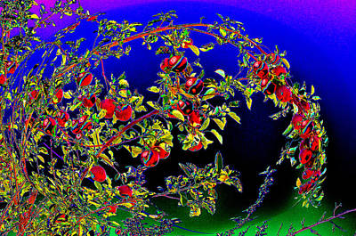 Abstract Animalia - Garland of Apples by Susanne Still