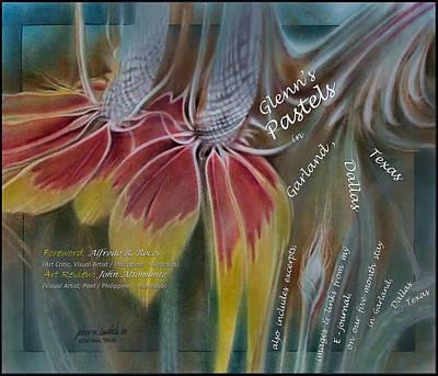 Garland Pastel 2009 Book Cover Art Print by Glenn Bautista