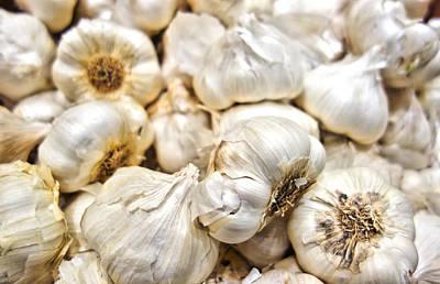 Photograph - Garlic Cloves by Robert Meyers-Lussier