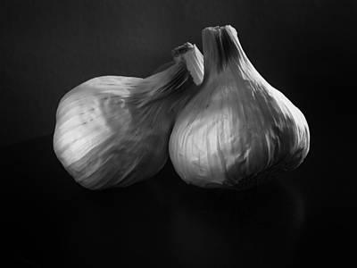 Garlic Art Print by Jesse Castellano