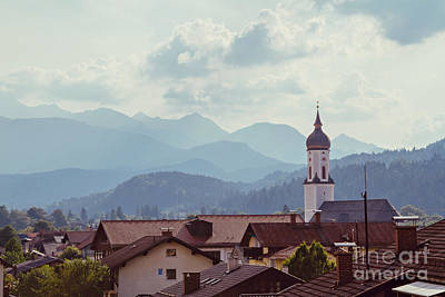 Architecture Photograph - Garmisch Landscape by Bethany Helzer