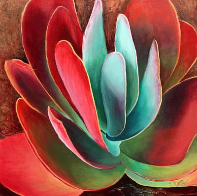 Painting - Garnet Jewel by Sandi Whetzel
