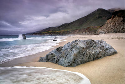 Garrapata Beach Ca Art Print by Chris Frost