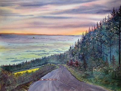 Painting - Garrowby Hill by Glenn Marshall