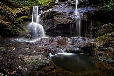 Photograph - Garwin Falls An Intimate Portrait by Jeff Sinon