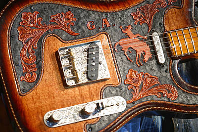 Gary Allan's Guitar Original by Don Olea