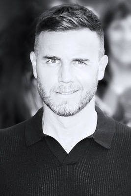 Photograph - Gary Barlow 2 by Jez C Self