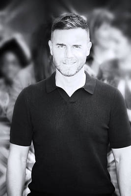 Photograph - Gary Barlow 4 by Jez C Self