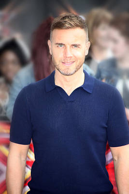 Photograph - Gary Barlow 5 by Jez C Self