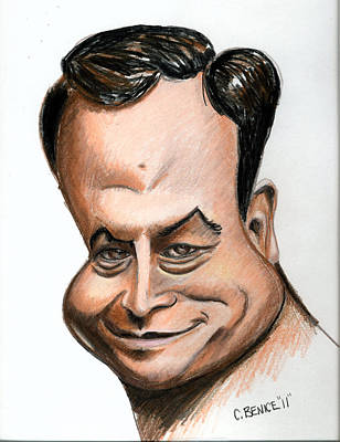 Drawing - Gary Sinise by Chris Benice