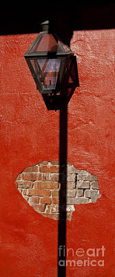 Gas Lamp Photograph - Gas Lamp   #4387 by J L Woody Wooden