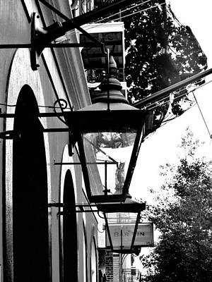 Gas Lamp Photograph - Gas Lamps by Buddy Green