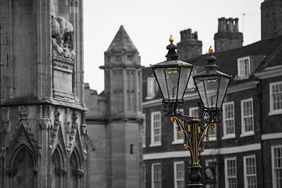 Gas Lamp Photograph - Gas Lamps York by John Hall