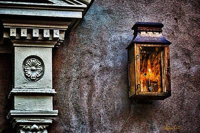 Gas Lamp Photograph - Gas Lantern by Renee Sullivan