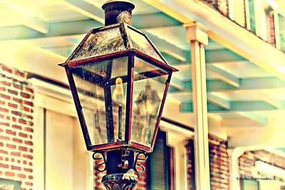 Photograph - Gas Light by Audreen Gieger