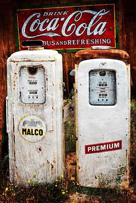 Jeff Johnson Photograph - Gas Or Soda by Jeff Johnson
