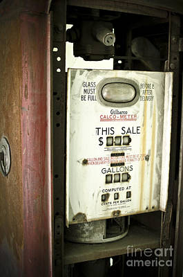 Ally Photograph - Gas Pump by Jessica Berlin