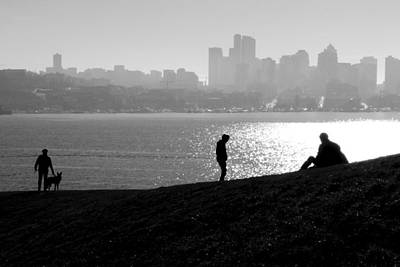 Photograph - Gas Works Park Seattle by Frank Winters
