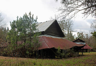 Photograph - Gaskins Family Barn Series II by Suzanne Gaff