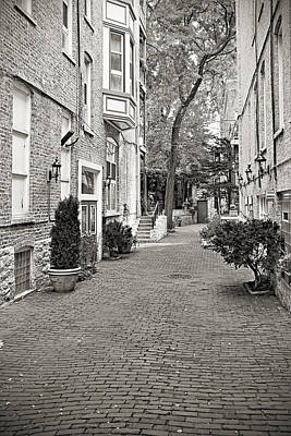 Gaslight Court Chicago Old Town Art Print