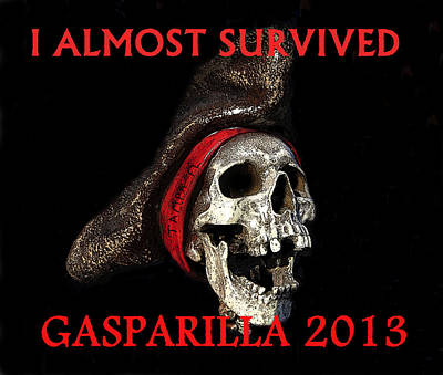 Gasparilla 2013 Postertshirt Work B Art Print by David Lee Thompson
