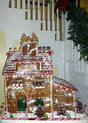 Photograph - Gasparilla Gingerbread by Barbie Corbett-Newmin
