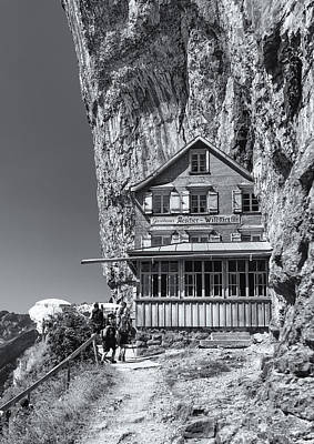 Photograph - Gasthaus Aescheron Ebenalp by Charles Lupica