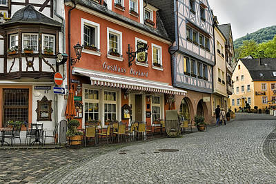 Photograph - Gasthaus Burkard Bernkastel Germany Img 8544 by Greg Kluempers