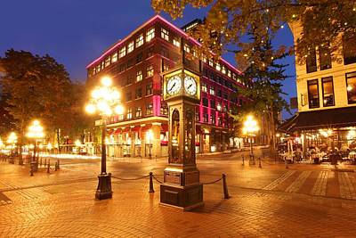 Gastown Art Print by Dan Breckwoldt