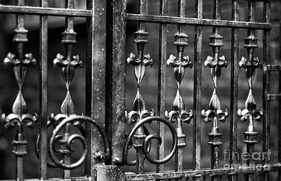 Photograph - Gastown Wrought Iron by John Rizzuto