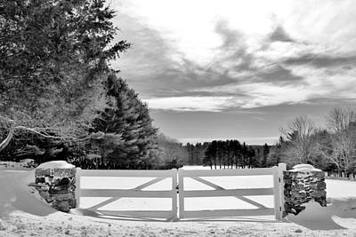 Photograph - Gate  by CJ Rhilinger