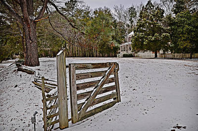Photograph - Gate At Thorntree by Linda Brown