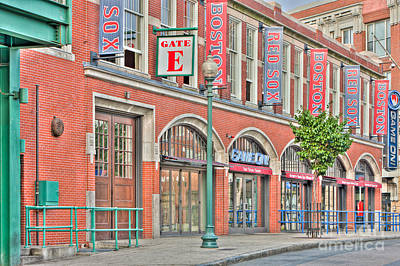 Fenway Park Photograph - Gate E by Clarence Holmes