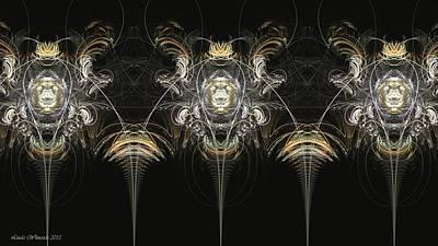 Digital Art - Gate by Linda Whiteside
