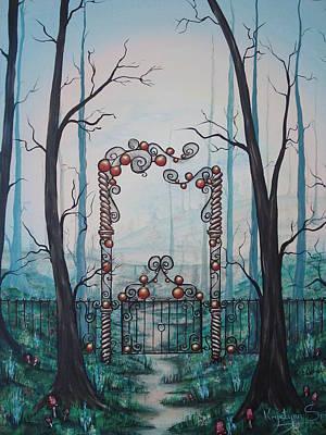 Gate Of Dreams Art Print
