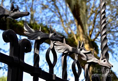 Photograph - Gate Of Moat Bridge by Carol  Bradley