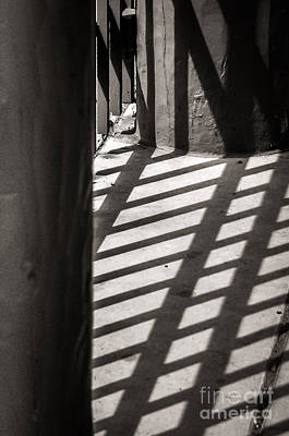 Photograph - Gate Shadows II by Sherry Davis