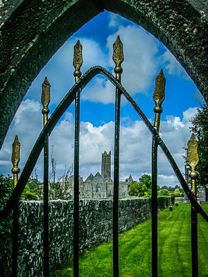 Photograph - Gate To Ireland's Quin Abbey by James Truett