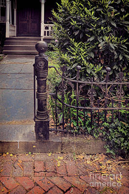 Photograph - Gate To Old House by Jill Battaglia