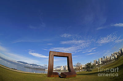 Photograph - Gate To The Northwest Passage Vancouver by John  Mitchell