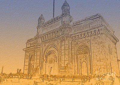 Photograph - Gate Way Of India by Manjot Singh Sachdeva