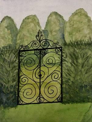 Giuseppe Cristiano - Gated Garden by Zack Winchester