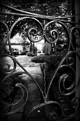 Photograph - Gated Heart by Kelly Hazel