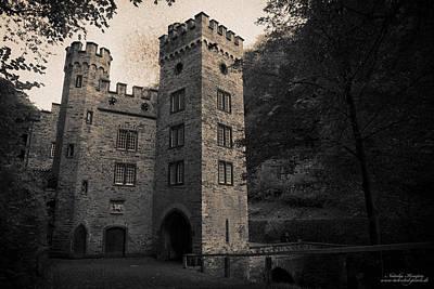 Past Twilight Digital Art - Gatehouse Of Stolzenfels Castle by Natalia Kempin